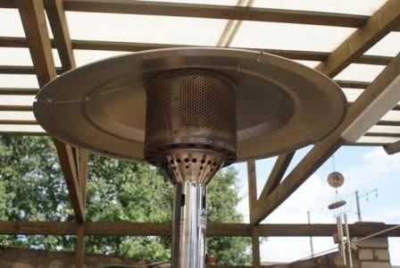 газовый фонарь обогреватель для веранды