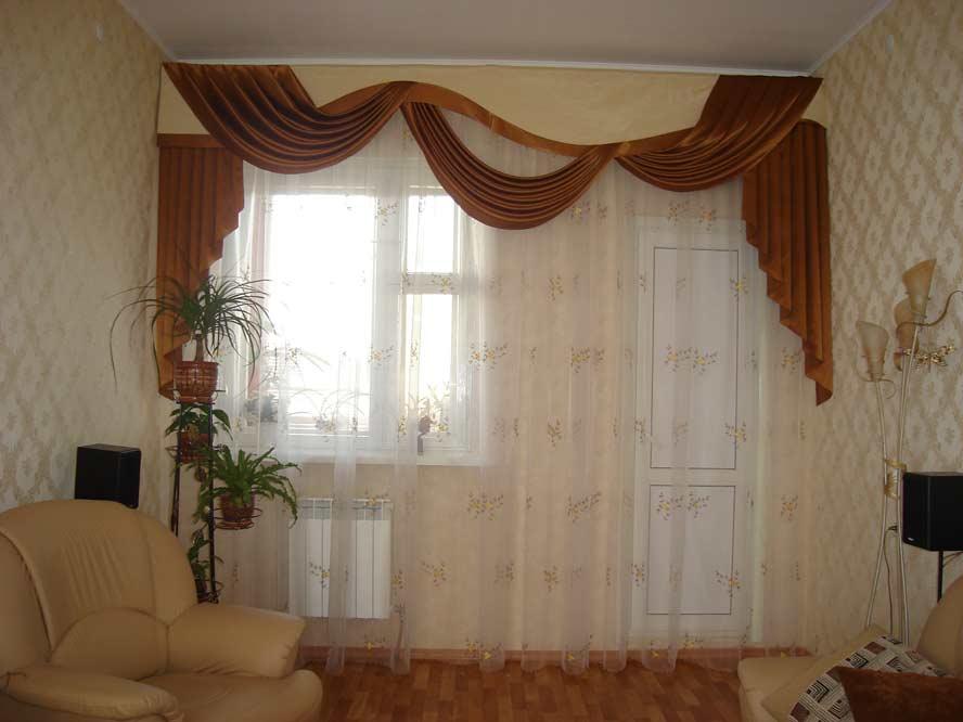 Ламбрекены для залы: 120 фото красивых сочетаний с тюлем и шторами