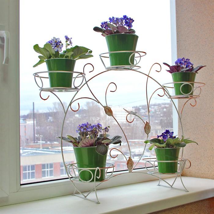 Подставка для цветов своими руками из подручного материала