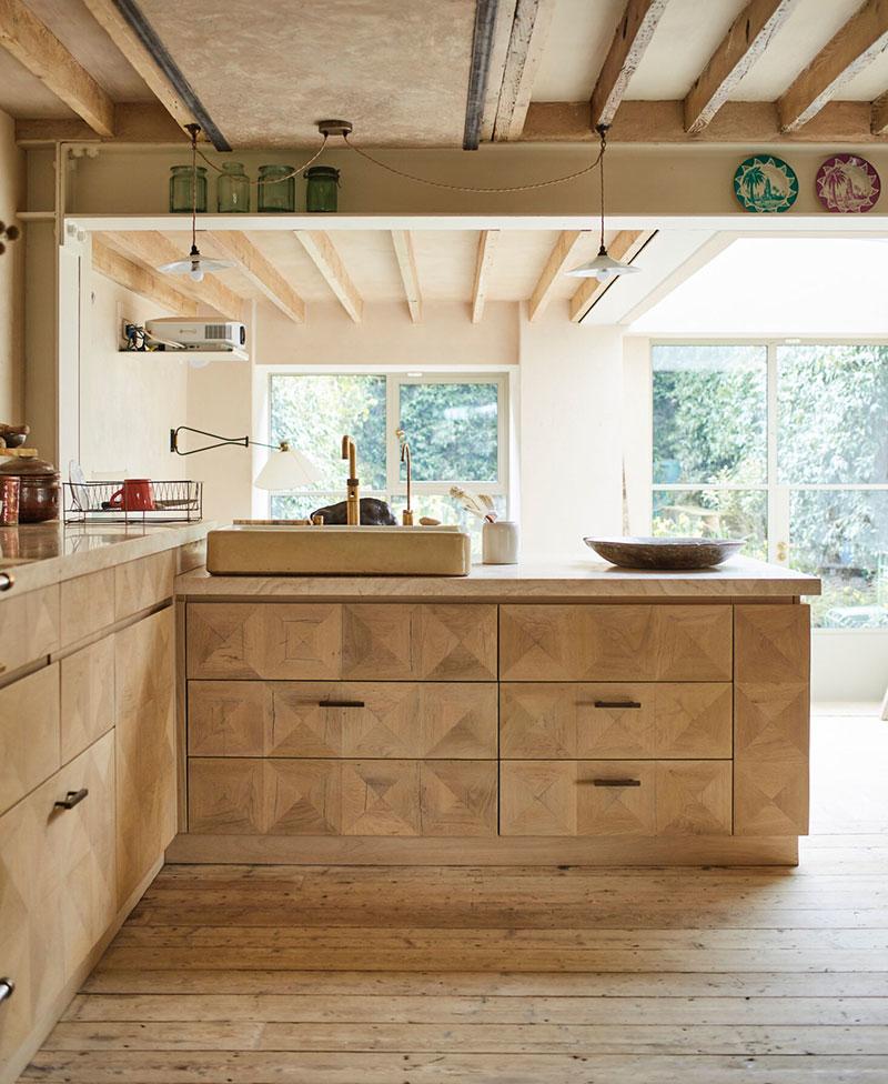 Деревянные кухни: 100 фото лучших современных идей из традиционных материалов