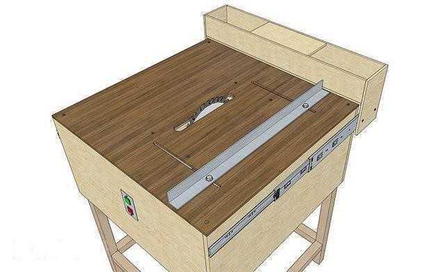 Распиловочный стол, выбор материалов, алгоритм создания своими руками