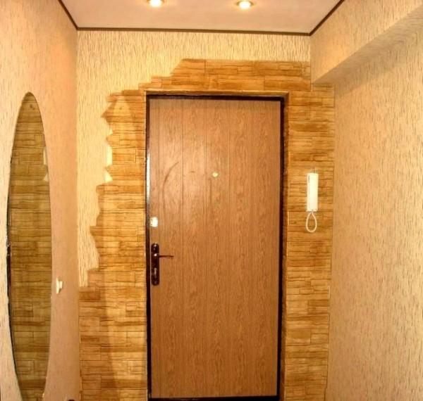 Руководство, как можно отделать дверной проем входной двери
