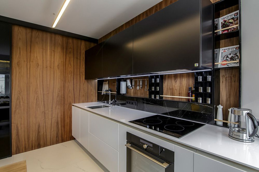 Панели для фартука на кухню (48 фото): кухонные стеновые декоративные панели, как закрепить