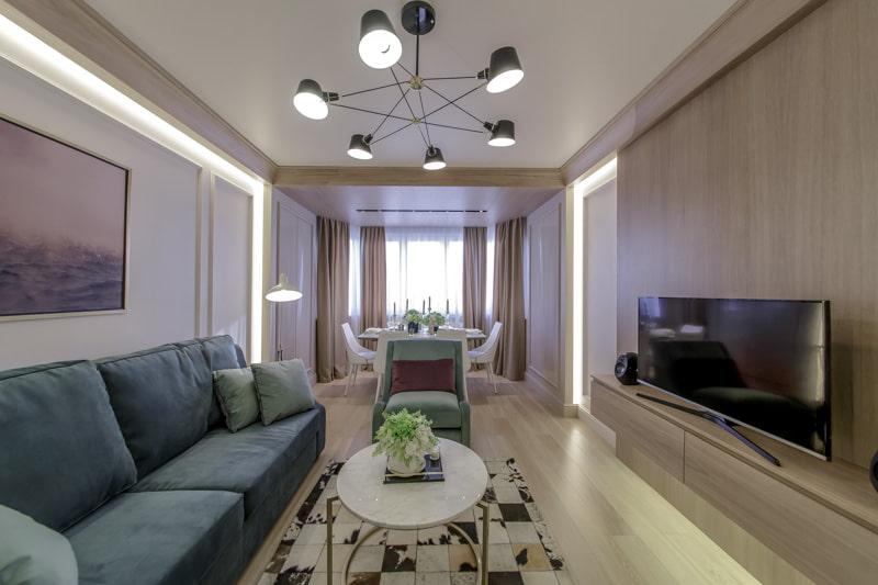 Люстры в гостиную: 195+ (фото) современных интерьеров