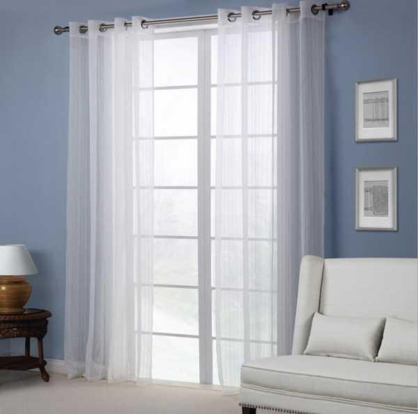 Тюль на окна без штор: как подобрать красивый вариант оформления оконного проема?