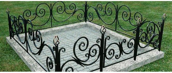 оградка на кладбище своими руками