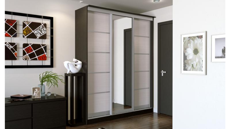 Прихожие в коридор со шкафом купе (66 фото): как выбрать красивую мебель со стеклом вешалкой и зеркалом?