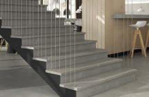Ступени из керамогранита (36 фото): керамогранитные варианты для лестницы в доме, облицовка керамогранитом