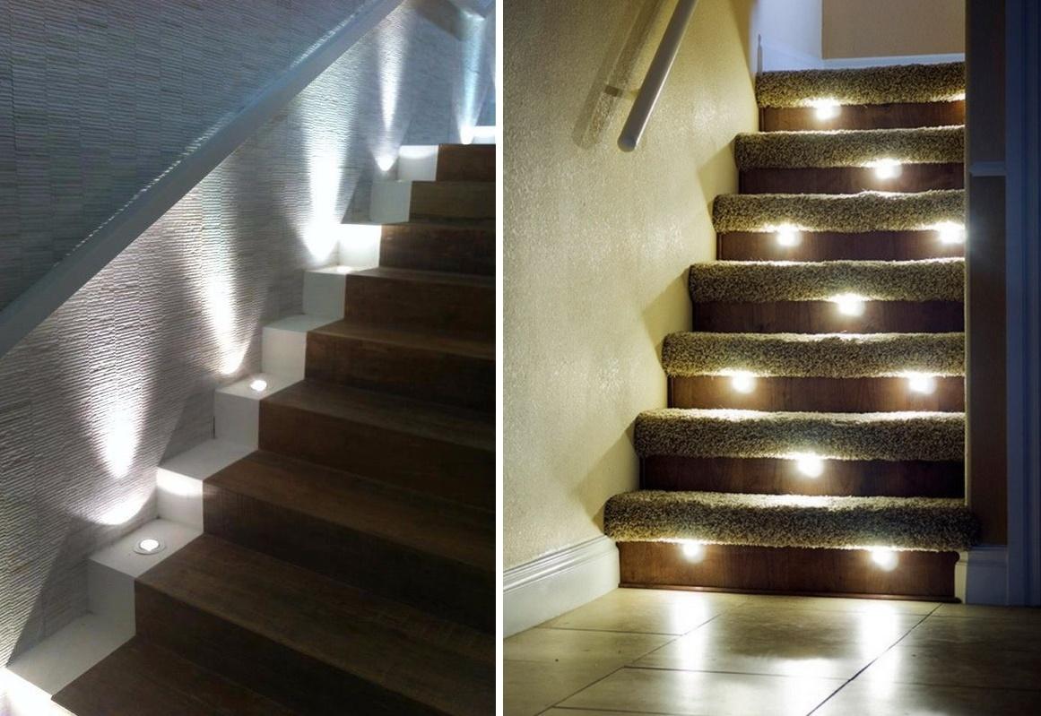 Как самому сделать подсветку ступеней лестницы