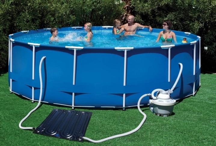 Детальный разбор видов и моделей нагревателей для каркасного бассейна