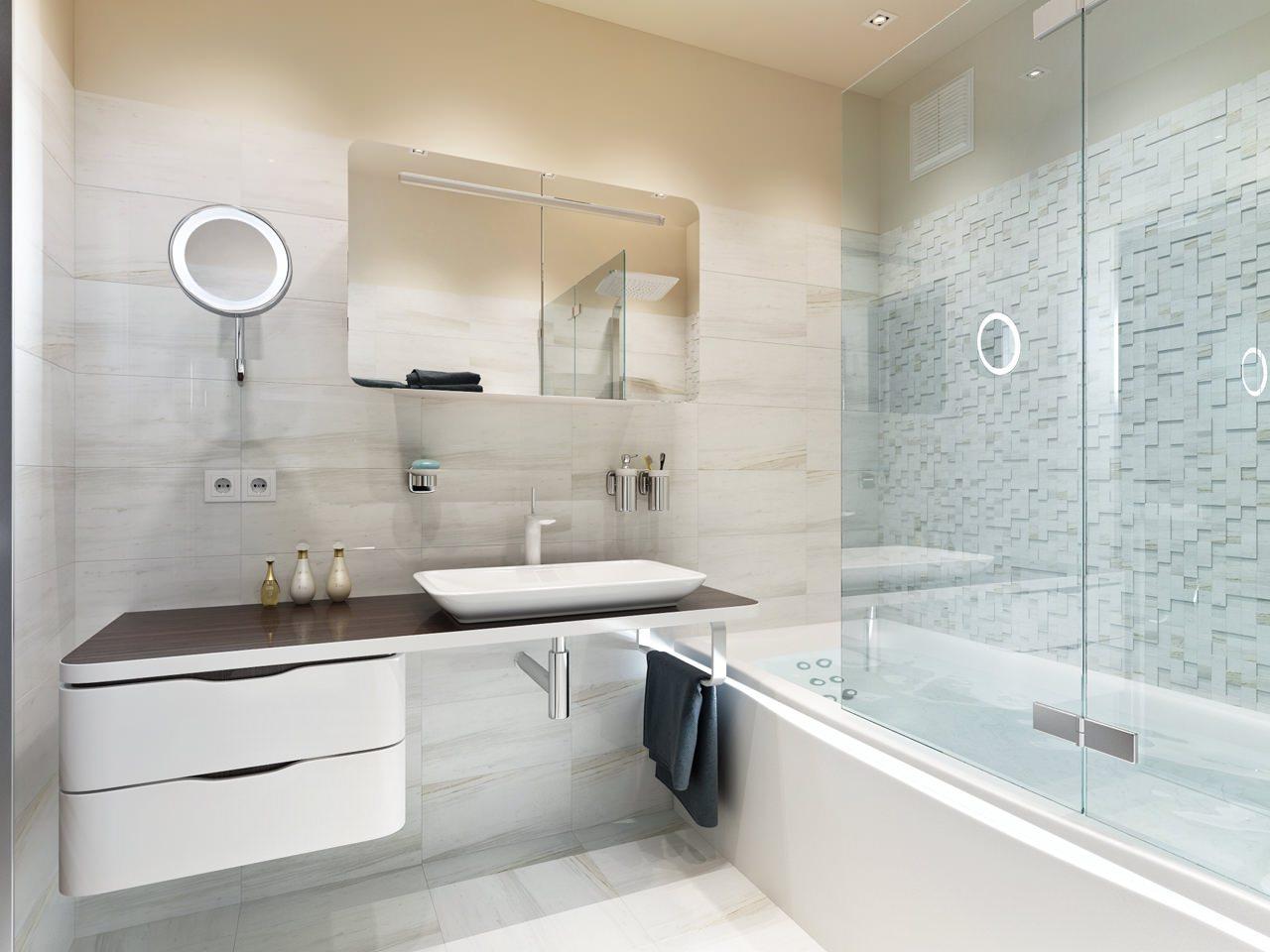Дизайн ванной комнаты 5 кв м - идеи планировки +70 фото интерьера