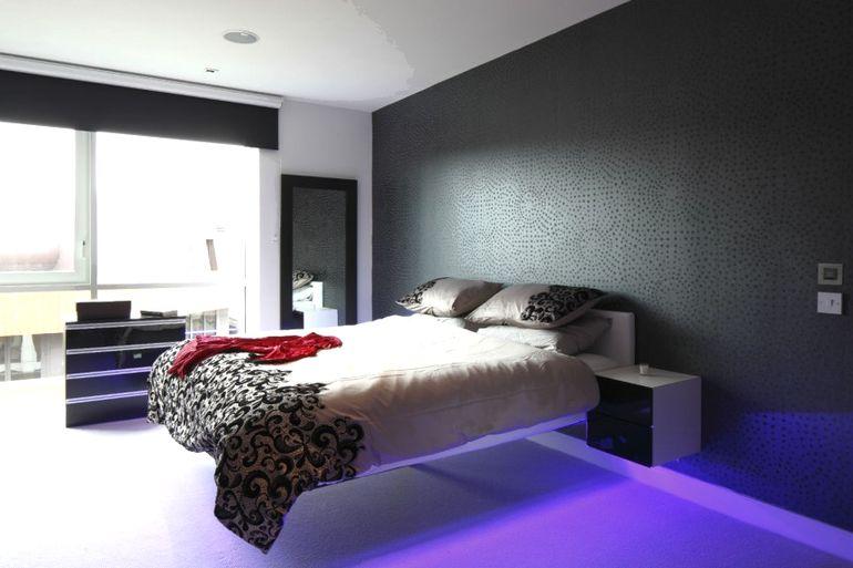 Парящая кровать: фото в интерьере, особенности, как сделать своими руками (чертежи)
