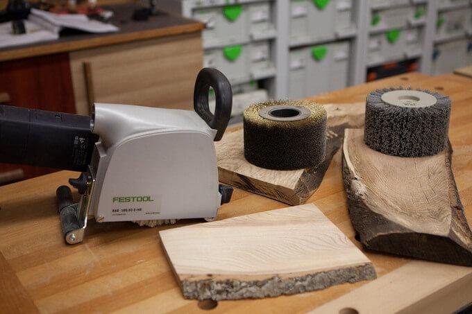 Щетки для браширования древесины