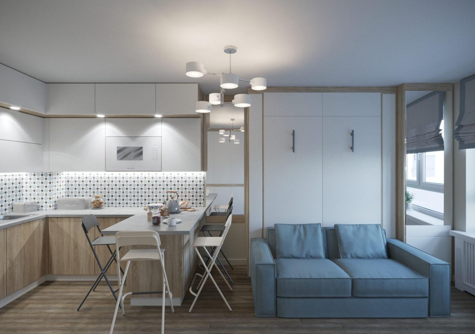 Как обустроить кухню 15 кв. м: фото дизайна и интерьера в современном стиле
