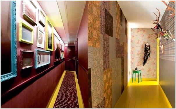 Дизайн узких коридоров (98 фото): интерьер длинного коридора в квартире, идеи и решения для «хрущевки» 2020