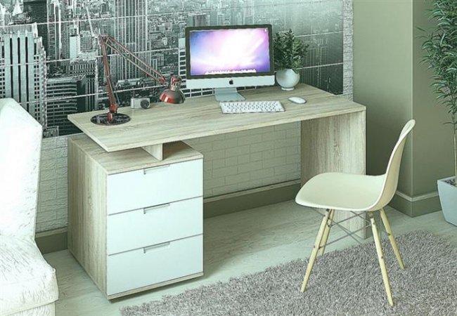Угловой компьютерный стол: 40 идей практичных вариантов для домашнего офиса
