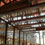 Усиление металлических стальных конструкций