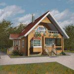 Деревянный брус и дачные дома