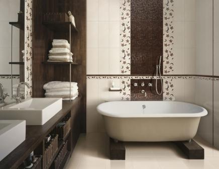 Интерьеры маленьких ванн