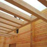 Соединение бруса при строительстве дома