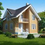 Выгоды строительства брусовых домов