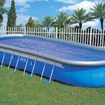 Каркасный бассейн на дачном участке