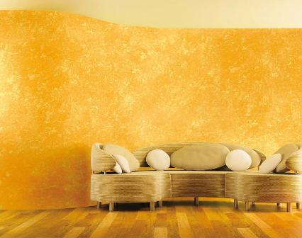Декоративная покраска стен