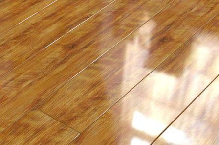 Глянцевый ламинат в интерьере фото