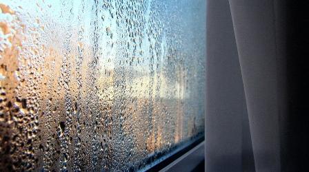 Конденсат на окнах ПВХ