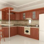Барные стойки для кухни и гостиной: из стекла, из дерева, из гипсокартона своими руками
