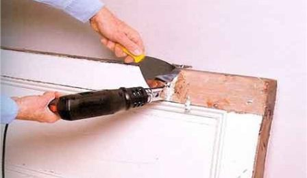 Как очистить стену от старой краски