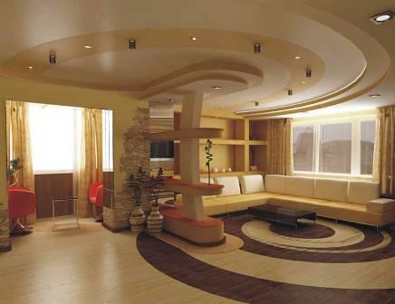 Многоуровневые потолки из гипсокартона своими руками фото