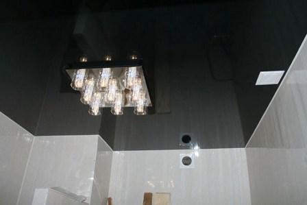 Глянцевые натяжные потолки6
