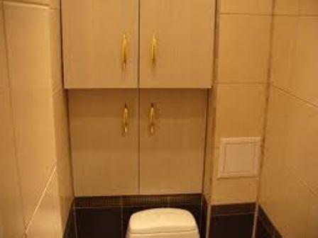 Как спрятать трубы в туалете 1