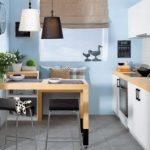 Мебель для маленькой кухни: как разместить, подобрать цвет