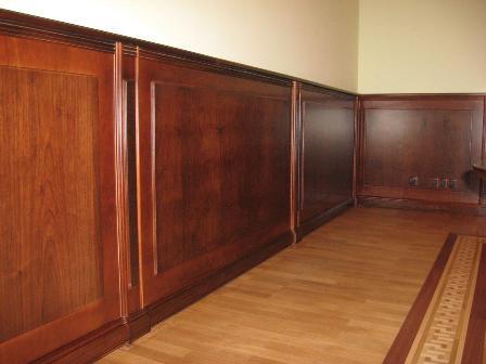 Облицовочные деревянные панели