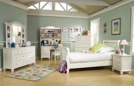 Спальня в винтажном стиле1