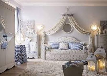 Детский диван-кровать для девочки фото