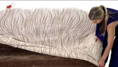 Еврочехлы на угловой диван 1