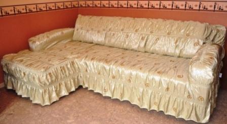 Еврочехлы на угловой диван купить