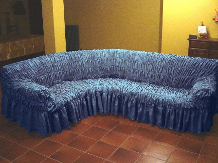 Еврочехлы на угловой диван