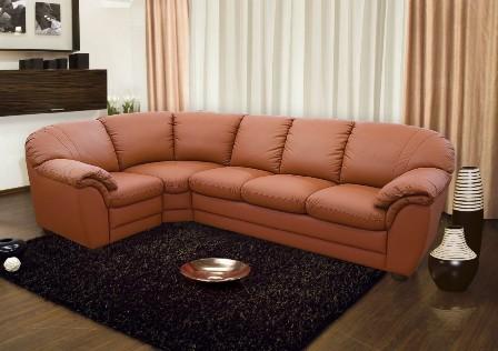 Фото угловых диванов для зала