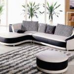 Фото угловых диванов для зала: красивый дизайн