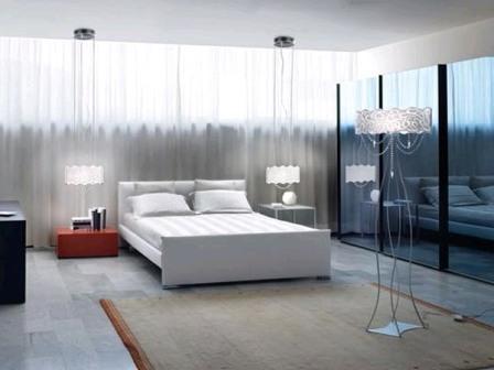 освещение в спальной