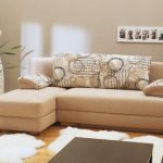 Угловой диван без подлокотников