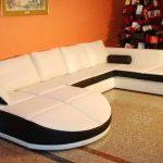 Угловой диван большого размера: роскошь для больших помещений