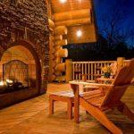 Действующий камин как источник тепла и уюта