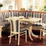 Красивые угловые диваны на кухню: фото и описание