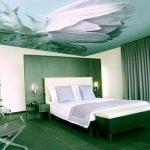 Натяжной тканевой потолок: преимущества и варианты исполнения