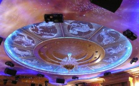 Небесный узор потолки
